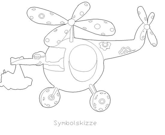 """Figur """"Hubschrauber"""""""