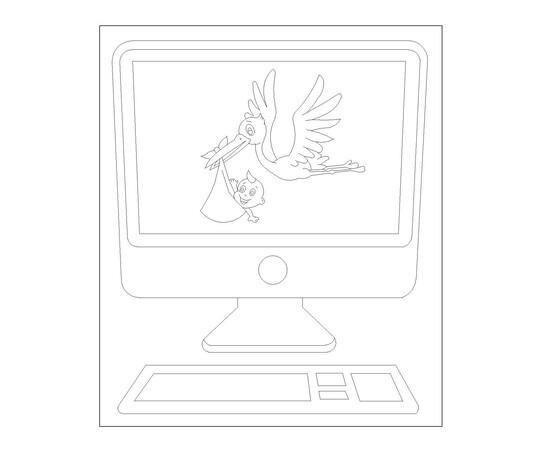 """Tafel """"Computer"""""""
