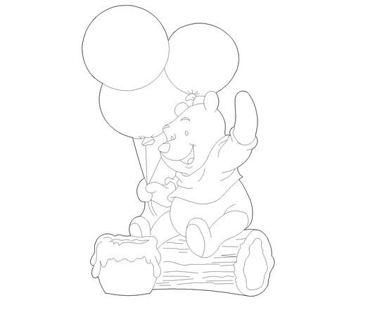 """Figur """"Pooh"""""""