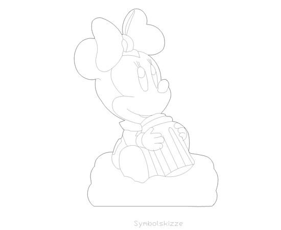 "Figur ""Minnie Mouse"""