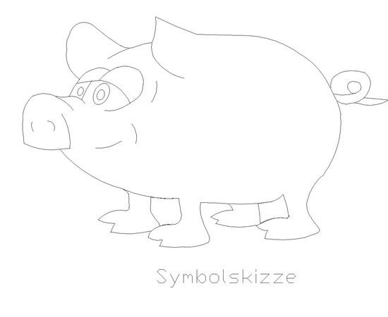 """Figur """"Schwein"""""""