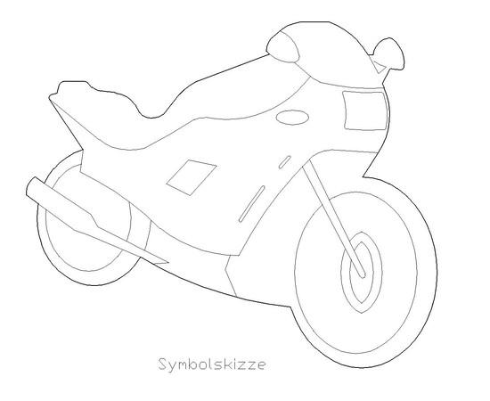 """Figur """"Motorrad"""""""
