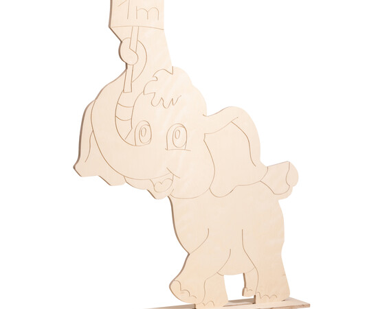"Figur ""Babyelefant"" natur"