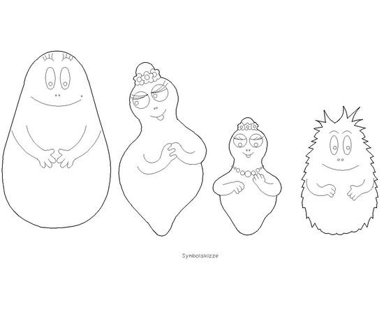 "Familie ""Barbapapa"""