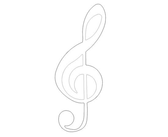 """Figur """"Violinschlüssel"""""""