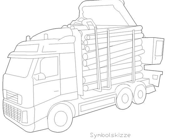"""Figur """"Lastwagen"""""""