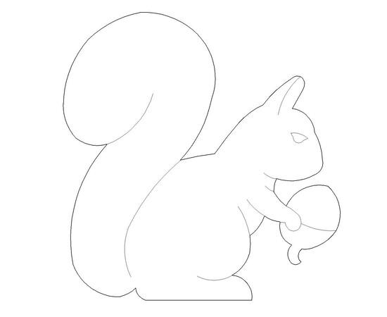 """Figur """"Eichhörnchen"""""""