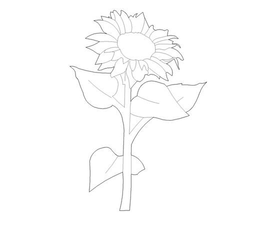 """Figur """"Sonnenblume"""""""